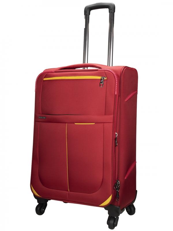 Killer Antarctica 24 Inch Luggage Trolley Bag Maroon