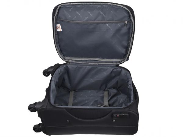 Killer Greenland 20 Inch Luggage Trolley Bag Black