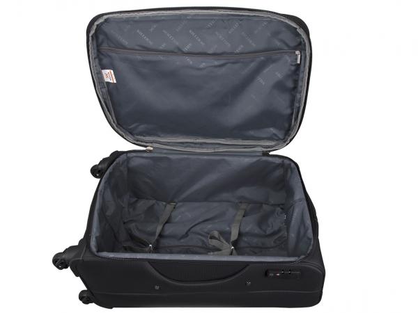 Killer Greenland 24 Inch Luggage Trolley Bag Black