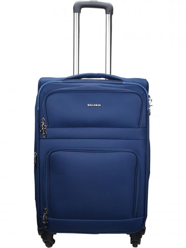 Killer Greenland 24 Inch Luggage Trolley Bag Navy Blue
