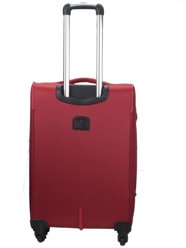 Killer Greenland 24 Inch Luggage Trolley Bag Maroon