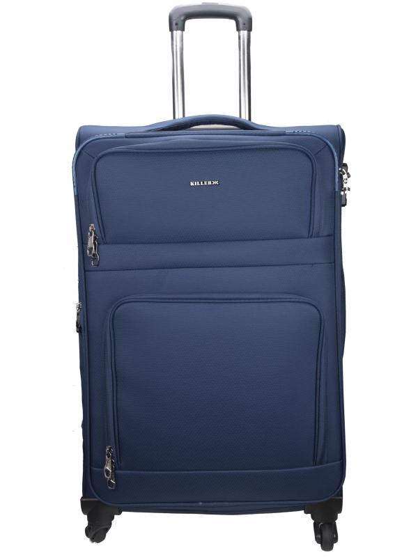 Killer Greenland 28 Inch Luggage Trolley Bag Navy Blue
