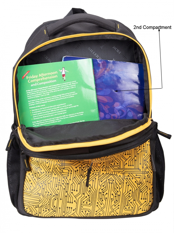Circuit Laptop Backpack - Yellow