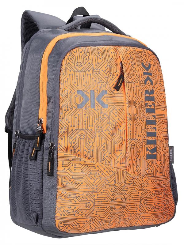 Killer Circuit Grey Laptop Backpack