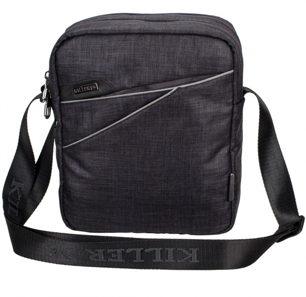 Killer Adelaide Dark Grey Travel Sling Bag