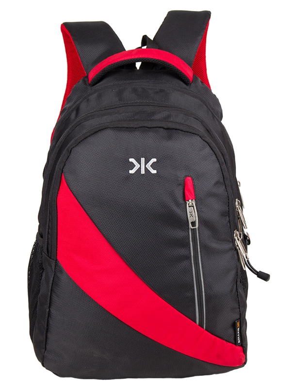 Vintage - Laptop Backpack for 15.6-inch Laptop (Black & Red)