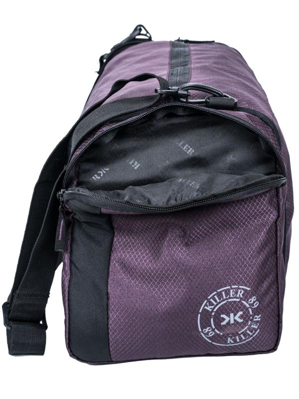 Armstrong - Dual Purpose Bag - Duffle cum Sling Bag - Wine Red