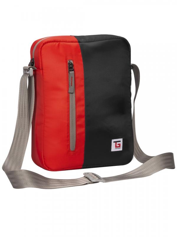 Bunco Sling Bag Black Red