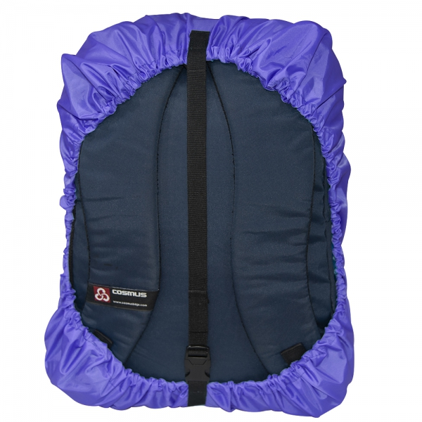 Its a Rainy Day Again Purple  Rain & Dust Cover with Pouch for  Backpacks