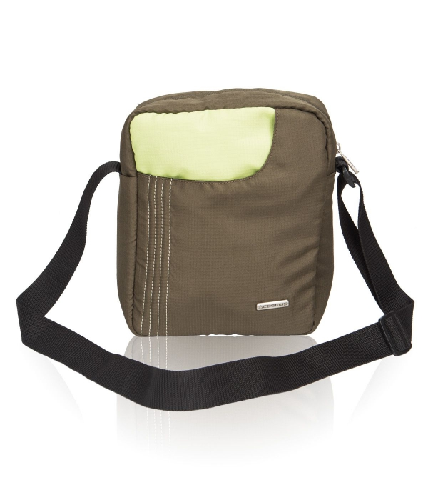 Cosmus Stitchwell Olive Green Sling Bag