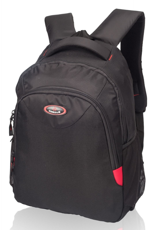 Cosmus Passion Black Laptop Backpack