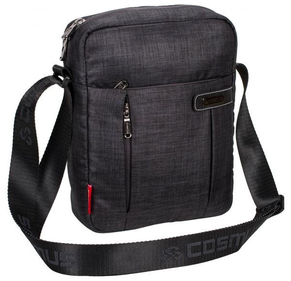 Cosmus Paris Travel Sling Bag  Dark Grey
