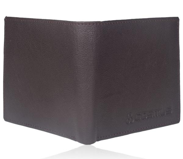 Genuine Leather Wallet For Men BROWN (LW-0008)