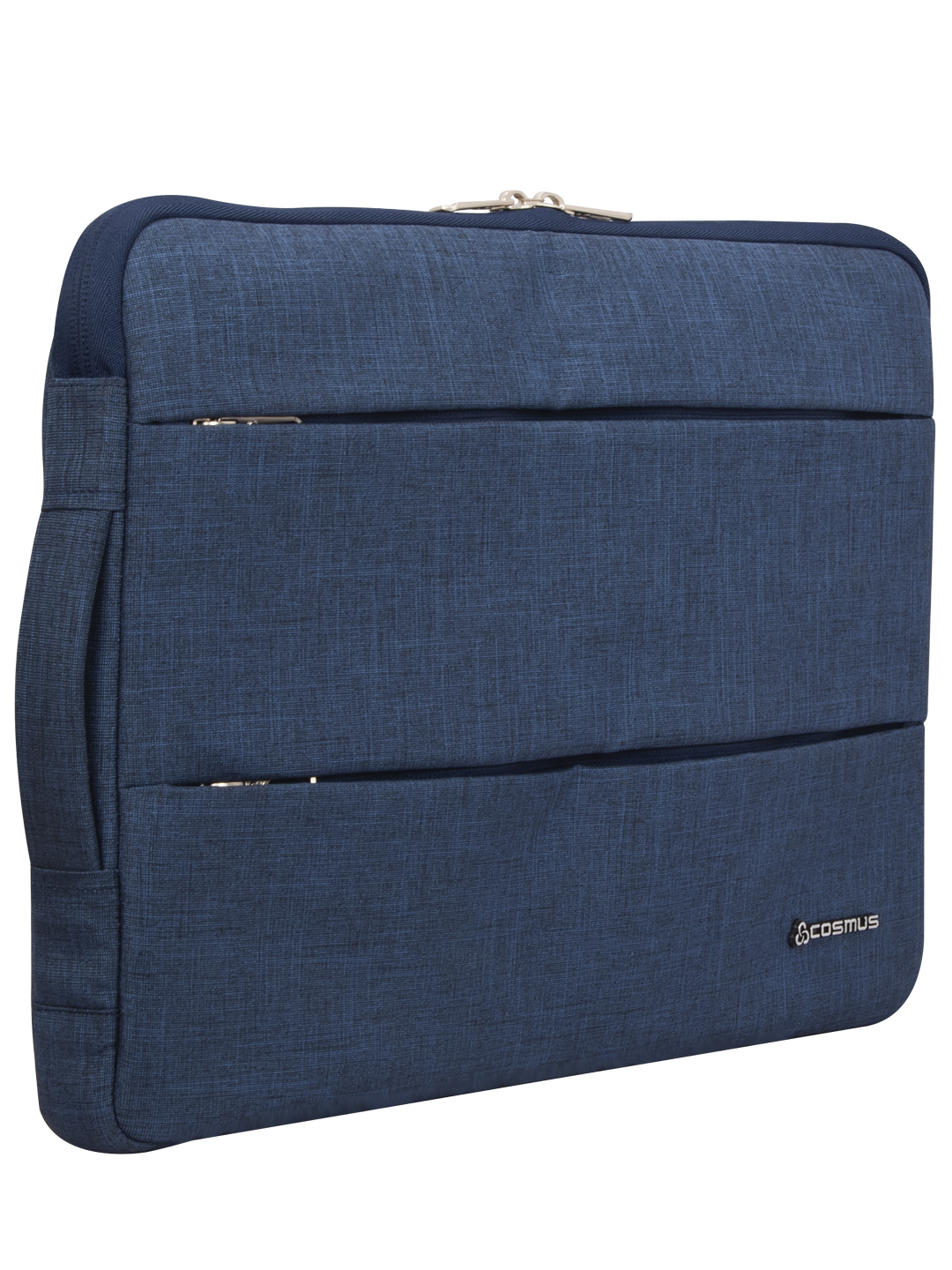 Cosmus Impact Navy Blue Laptop Sleeve up to 15.6 inches