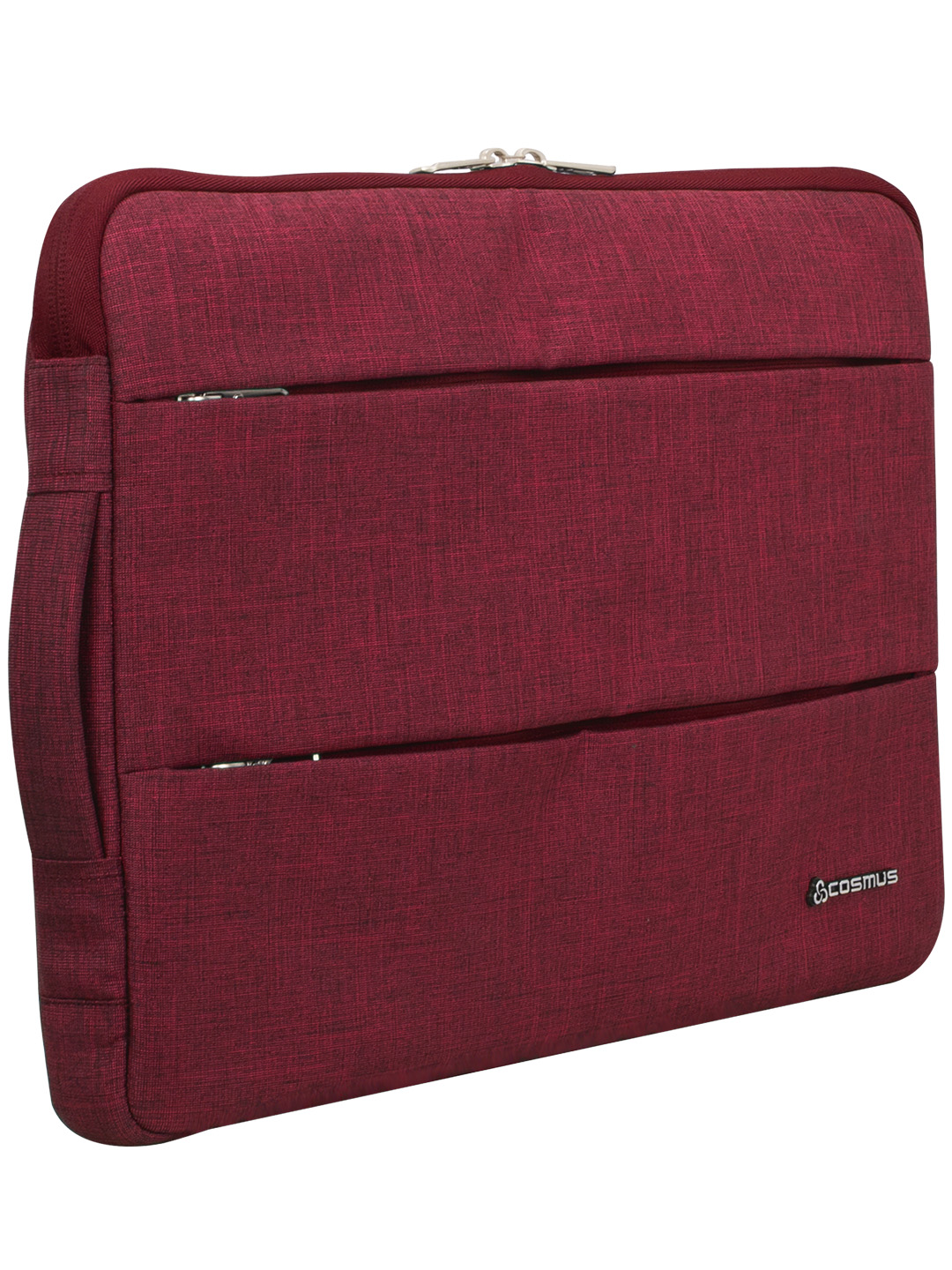 Cosmus Impact Maroon Laptop Sleeve up to 15.6 inches