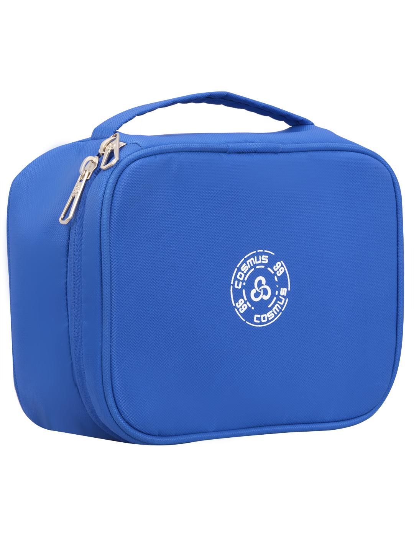 Cosmus RUSSET Royal Blue Travel Cosmetic Organizer Case Makeup bag