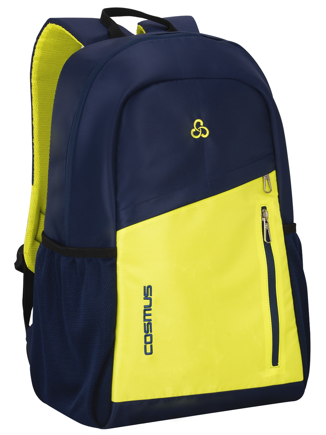 Flaunt 29 L Navy Blye & Parrot Green Casual Backpack