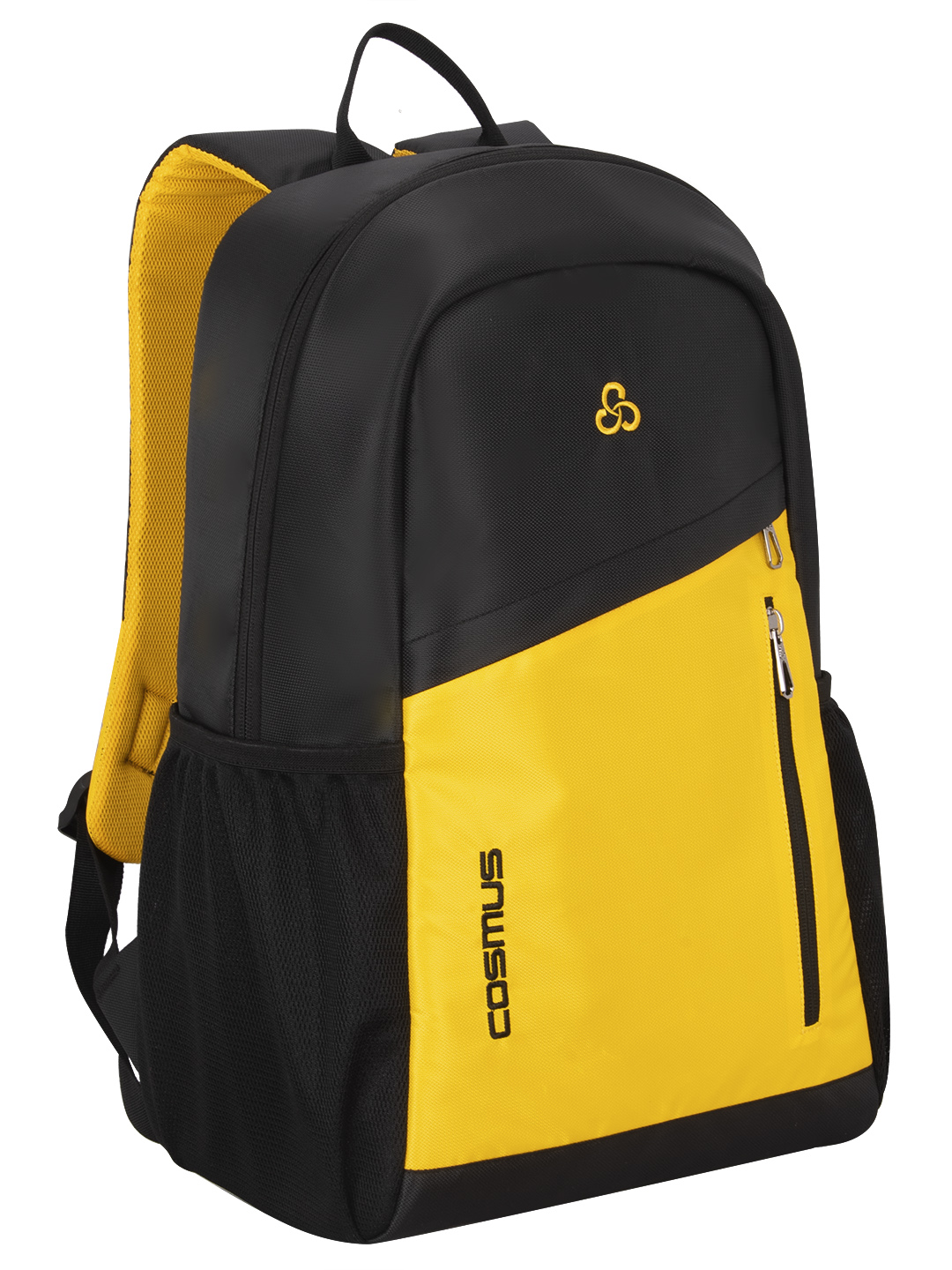 Flaunt 29 L Black & Yellow Green Casual Backpack
