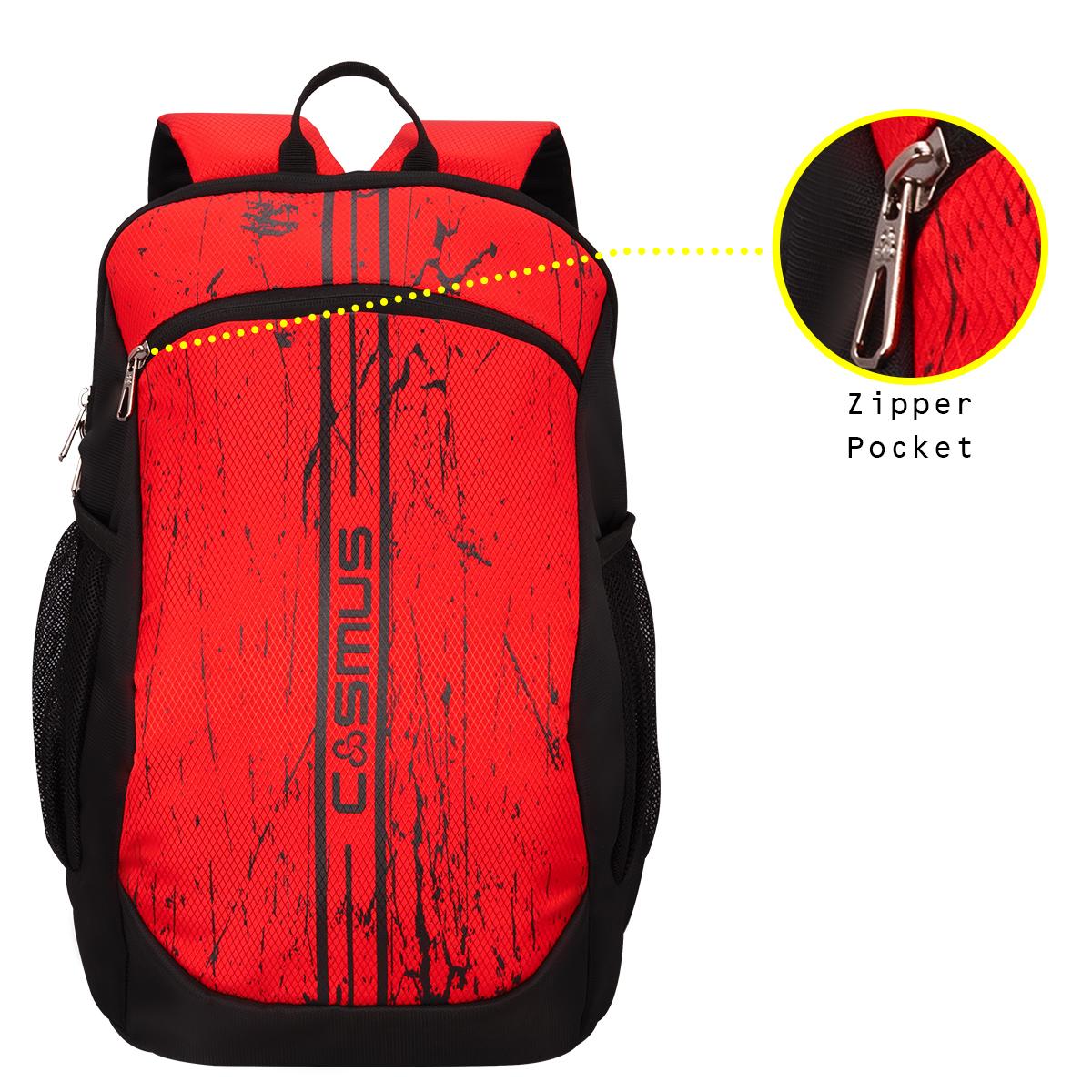 Tiger Daypack Black Backpack Bag