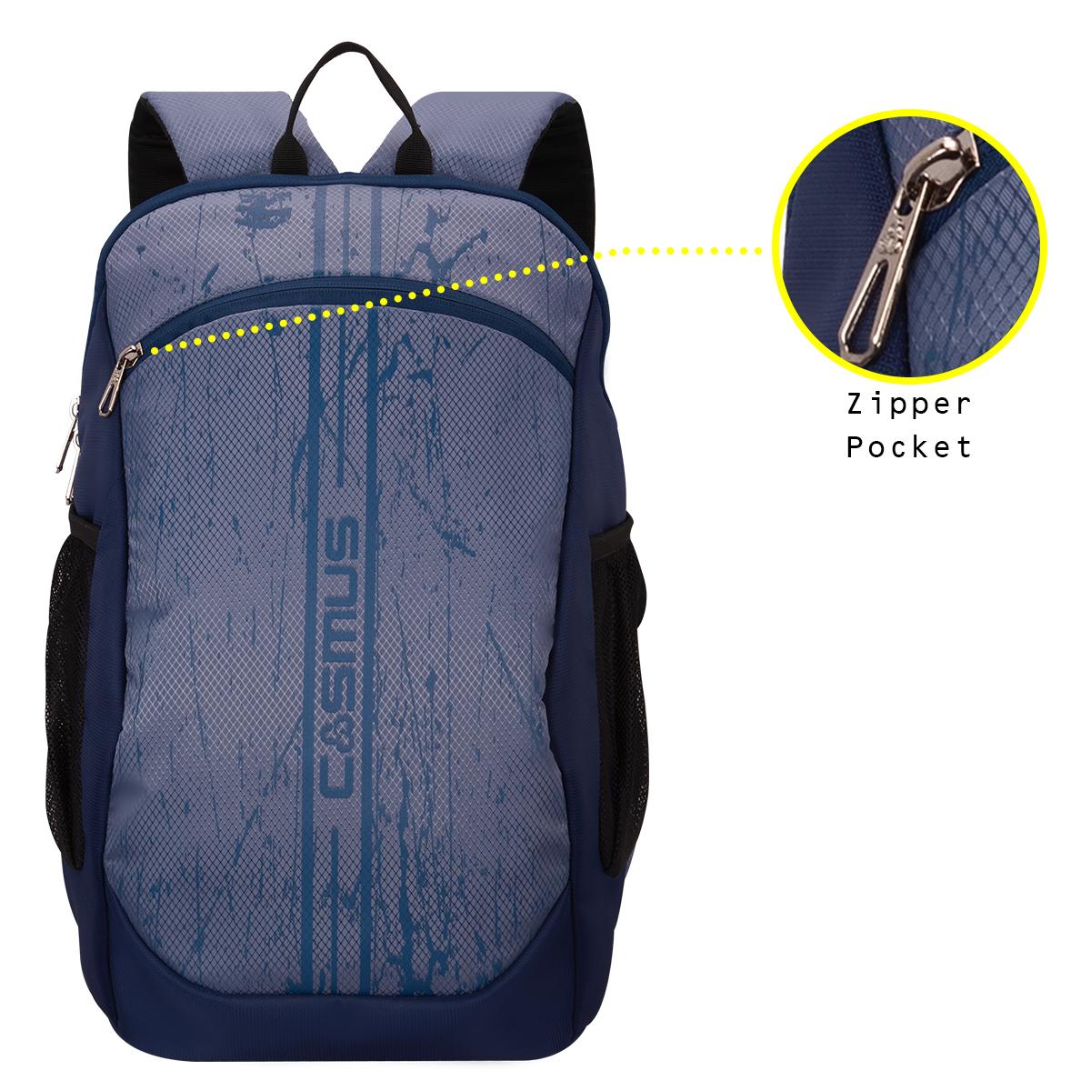 Tiger Daypack Navy Blue Backpack Bag
