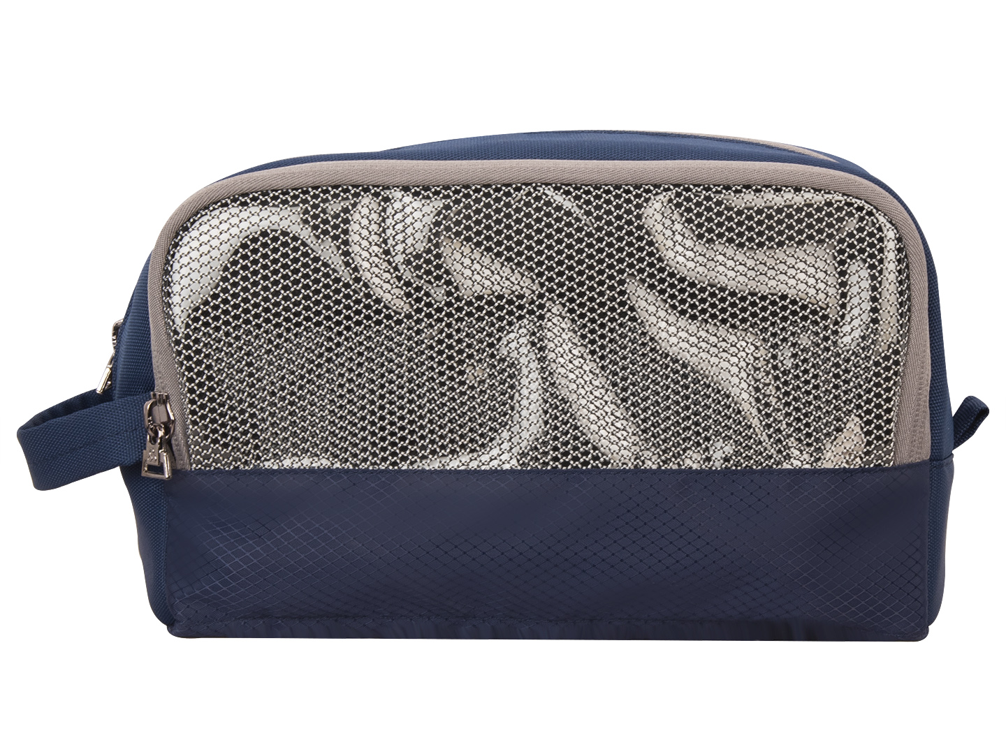 Carryon travel Navy Blue toiletry pouch bag