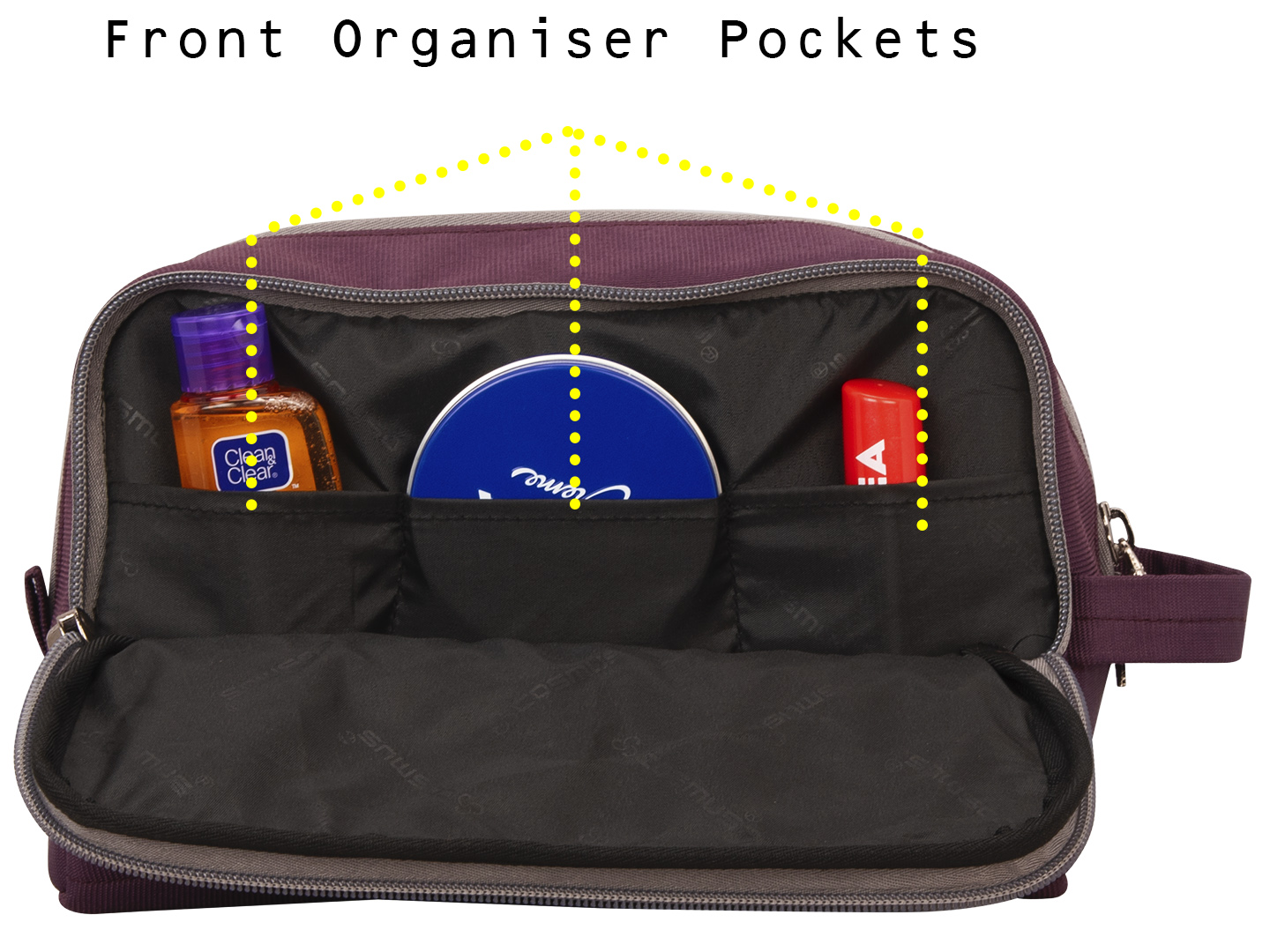 Carryon travel Wine toiletry pouch bag