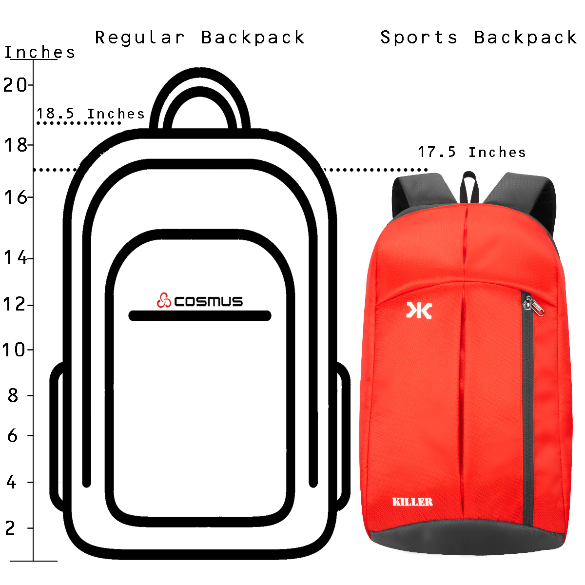 Jupiter 20 Red Daypack