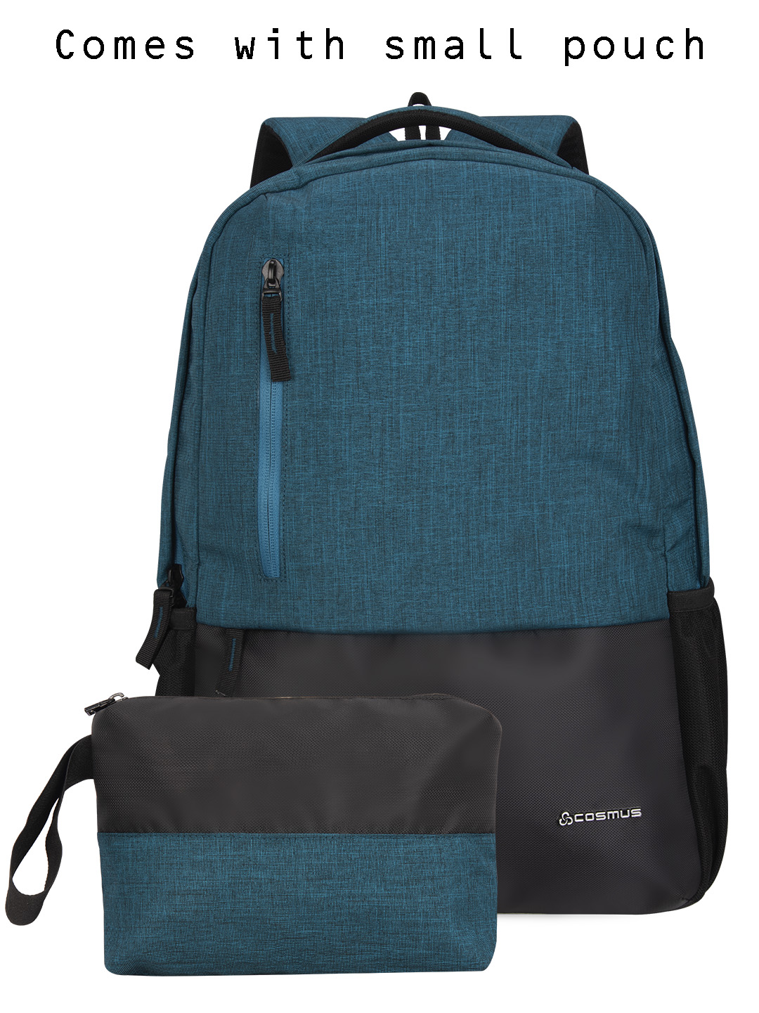 Vogue Laptop Backpack with USB Charger Port T.Green