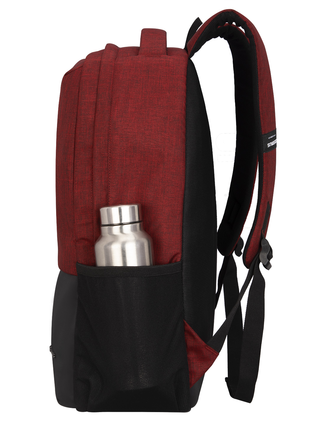 Vogue Laptop Backpack with USB Charger Port Maroon