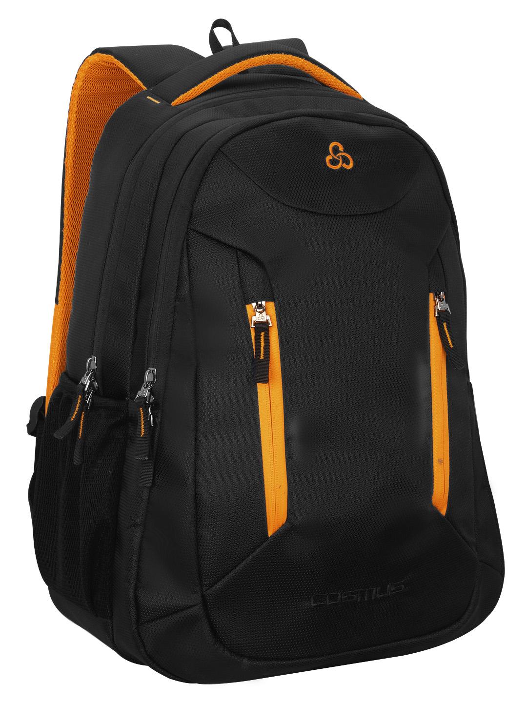 Sliden Black 38L Large Laptop Backpack