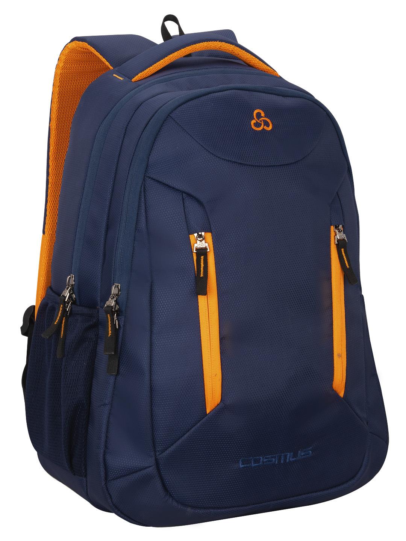 Sliden Navy Blue 38L Large Laptop Backpack